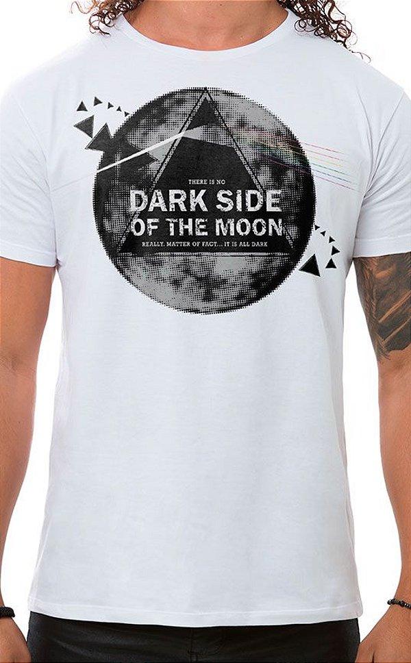 Camiseta Masculina Dark Side Branco