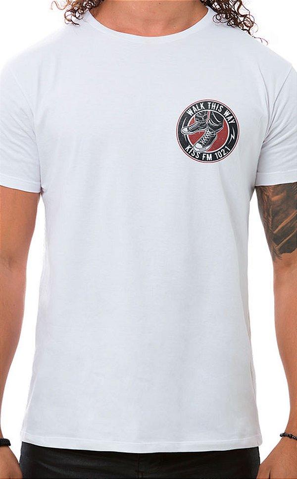 Camiseta Masculina Rock Shoes XT Branco