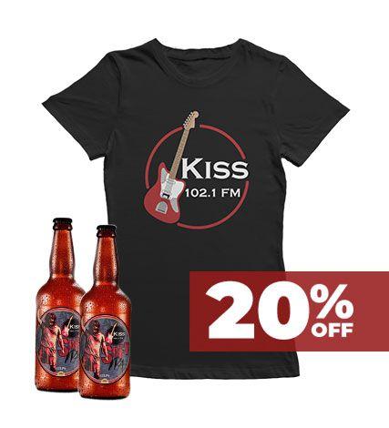 KIT Camiseta Feminina e Cerveja