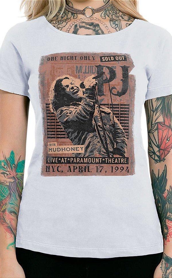 Camiseta Feminina Sold Out Branco
