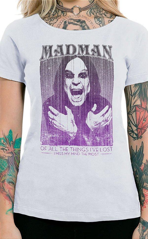 Camiseta Feminina Madman Branco