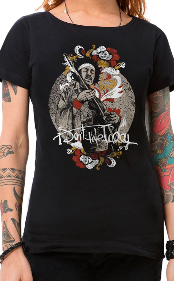 Camiseta Feminina Gipsy Jimi Preto