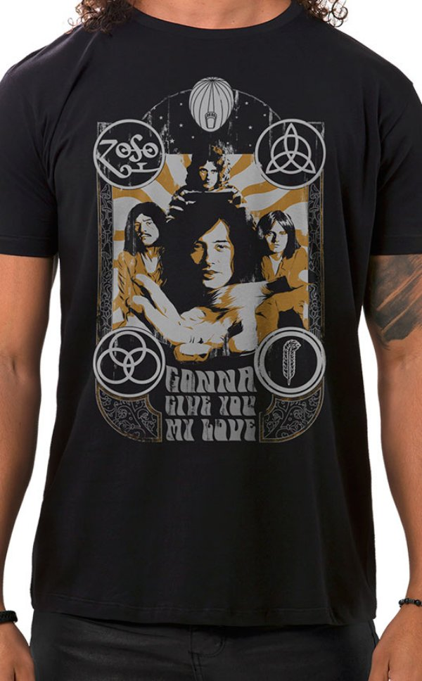 Camiseta Masculina Lotta Love Preto