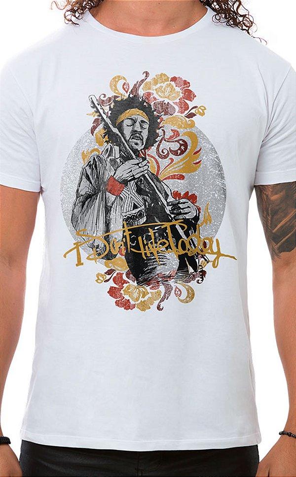Camiseta Masculina Gipsy Jimi Branco
