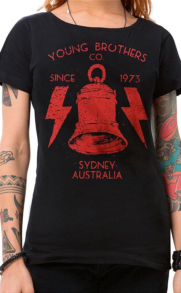 Camiseta Feminina High Voltage Preto