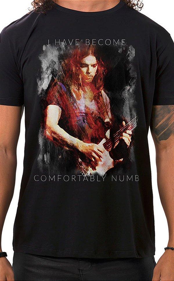 Camiseta Masculina Floydian Numb Preto