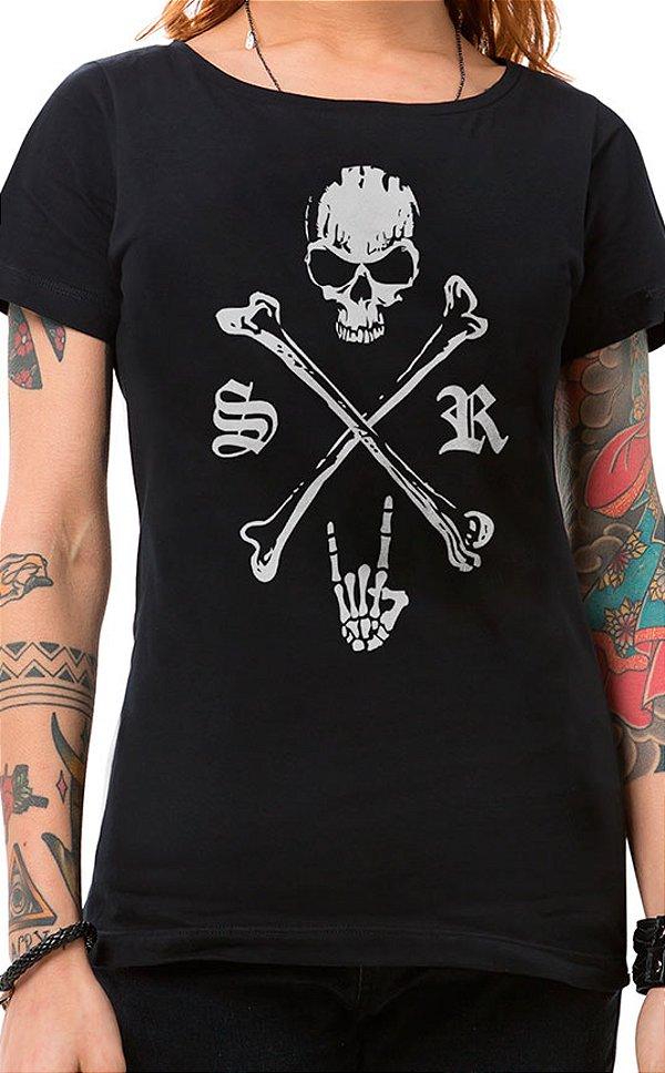 Camiseta Feminina Underdog Preto