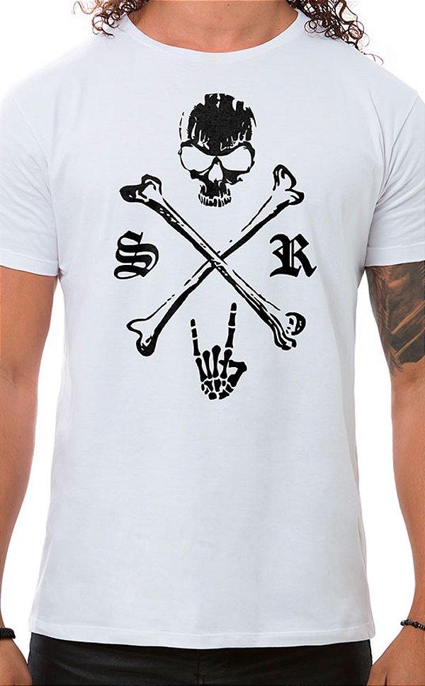 Camiseta Masculina Underdog Branco