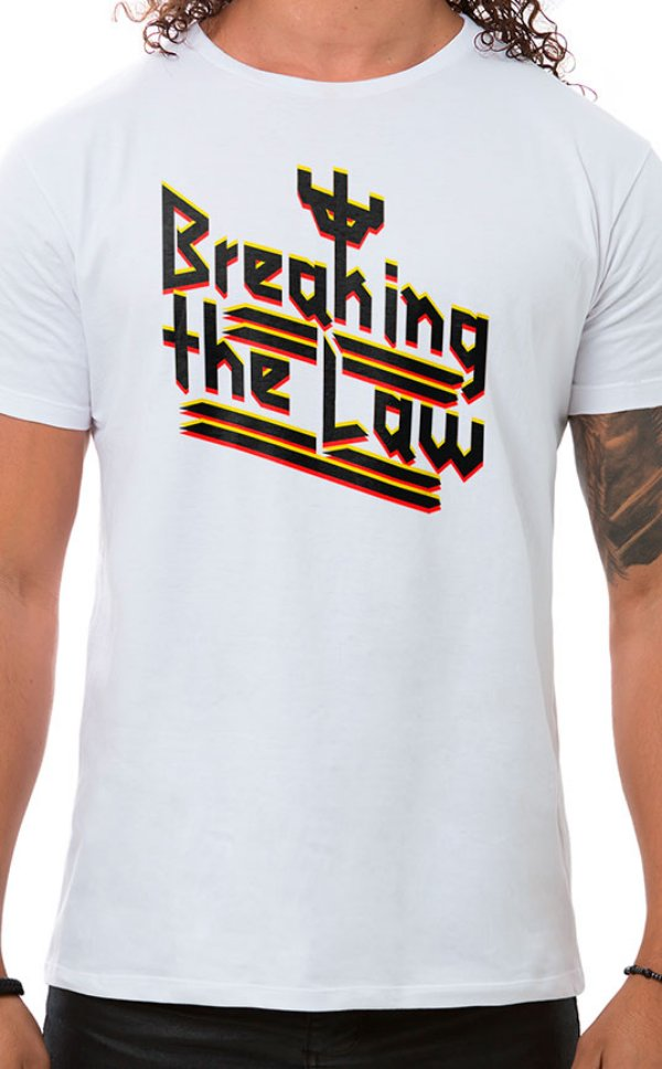 Camiseta Masculina Judas Law Branco
