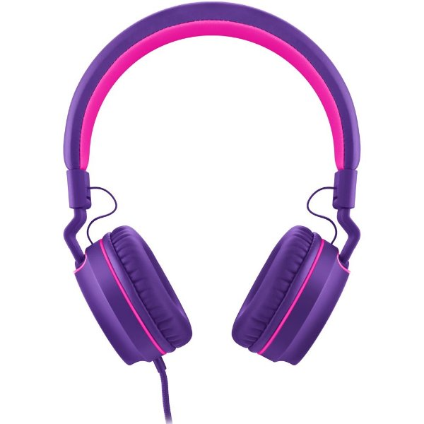 Fone de Ouvido Headphone Pulse PH161 Rosa e Roxo