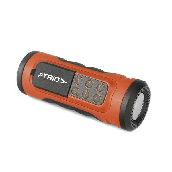 Caixinha de som Atrio Bi085 para Bicicleta bike com Bluetooth e Lanterna