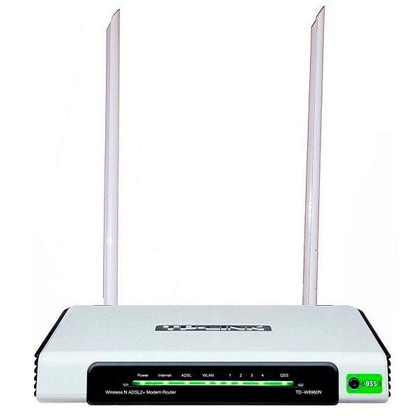 Modem Roteador Adsl2 Wireless Td-w8960n Tp-link Antena 20dbi
