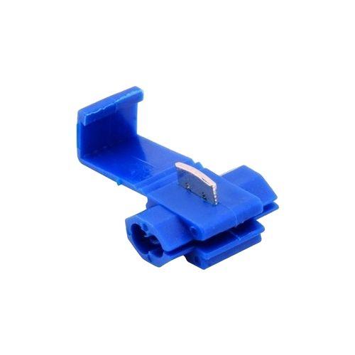 Conector de Derivação para Cabos Eletricos de 1,5mm a 2,5mm Azul - 100 Unidades