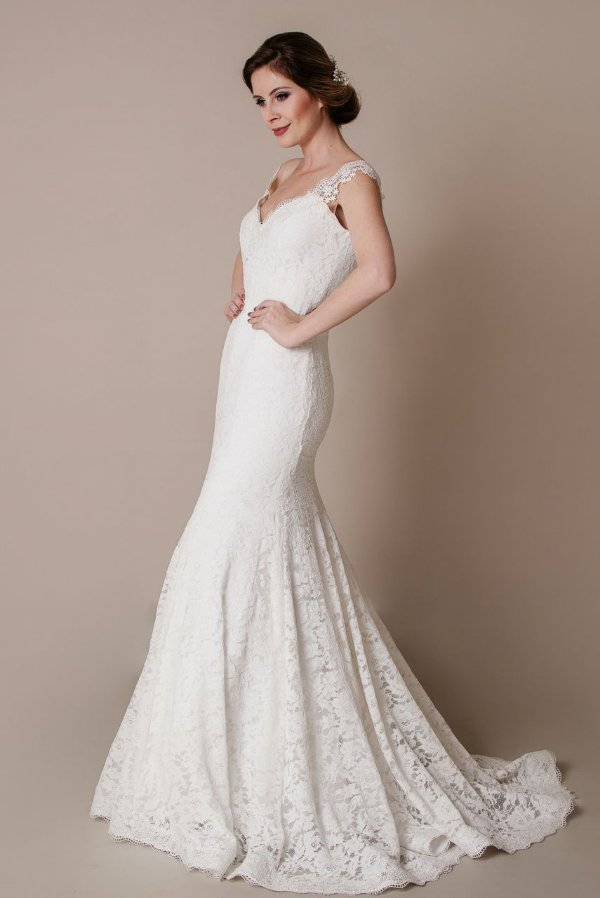 Vestido de Noiva Julie - Vlr. de Venda