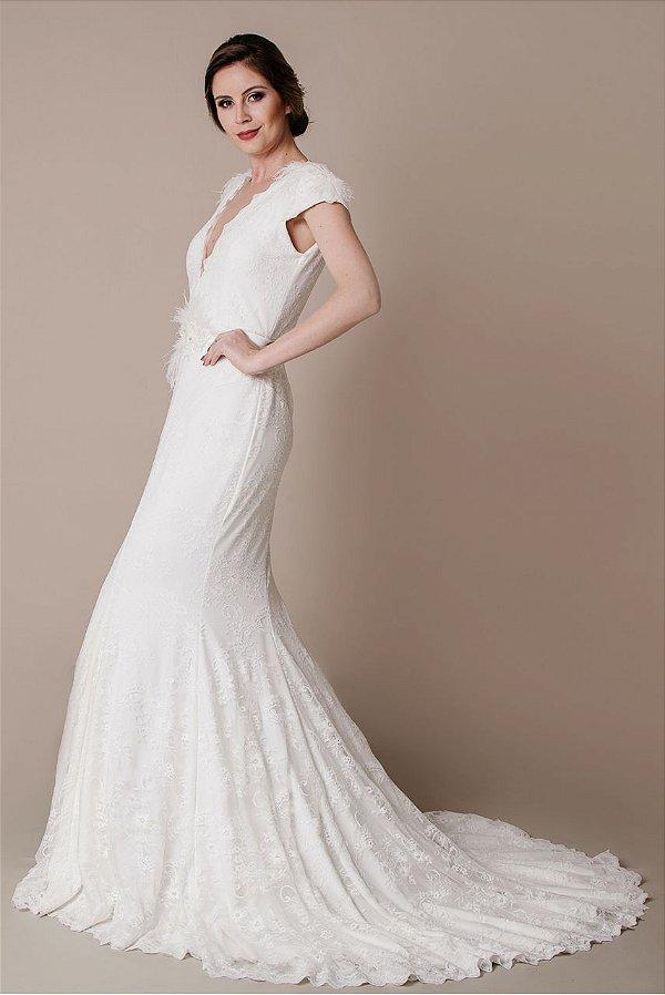 Vestido de Noiva Sonia - Vlr. de Venda
