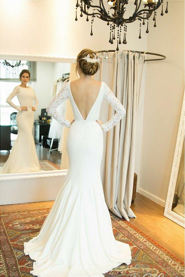 Vestido de Noiva Brenda - Vlr. de Venda