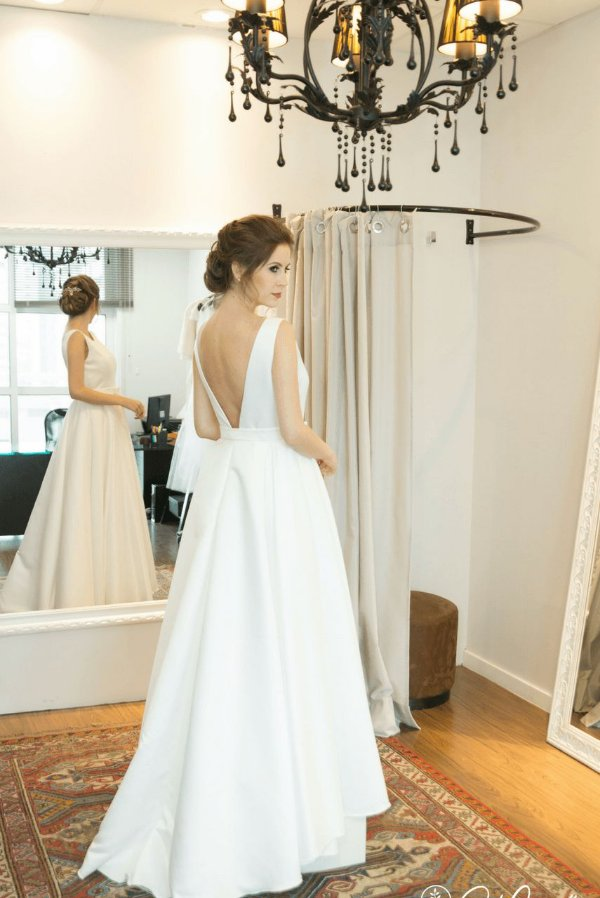 Vestido de Noiva Catarina - Vlr. de Venda