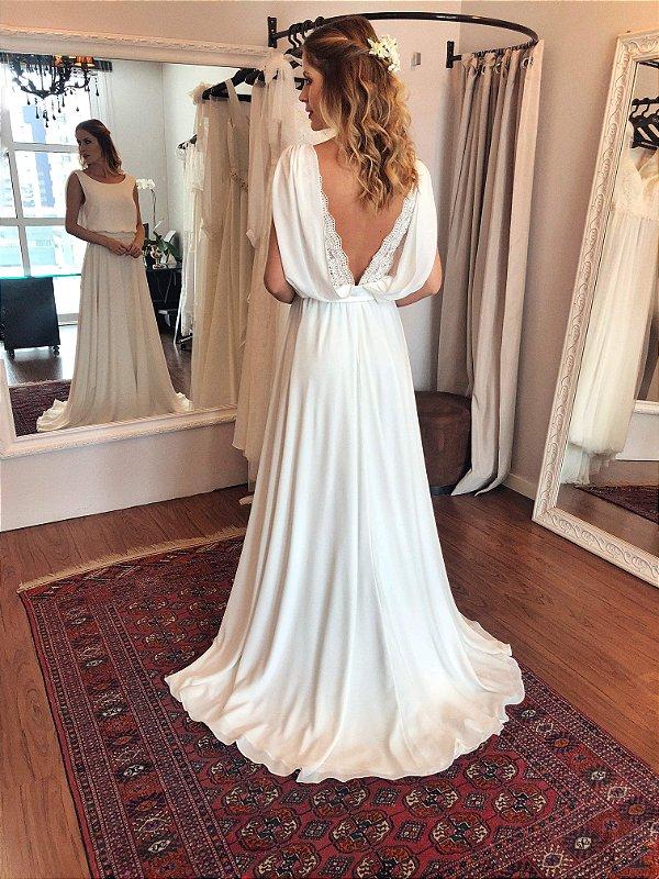Vestido de Noiva Bruna - Vlr. de Venda