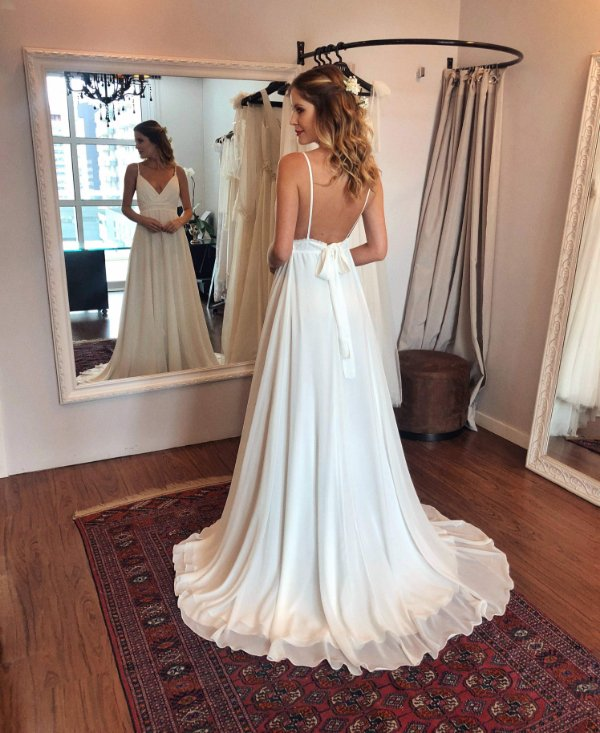 Vestido de Noiva Diana - Vlr. de Venda