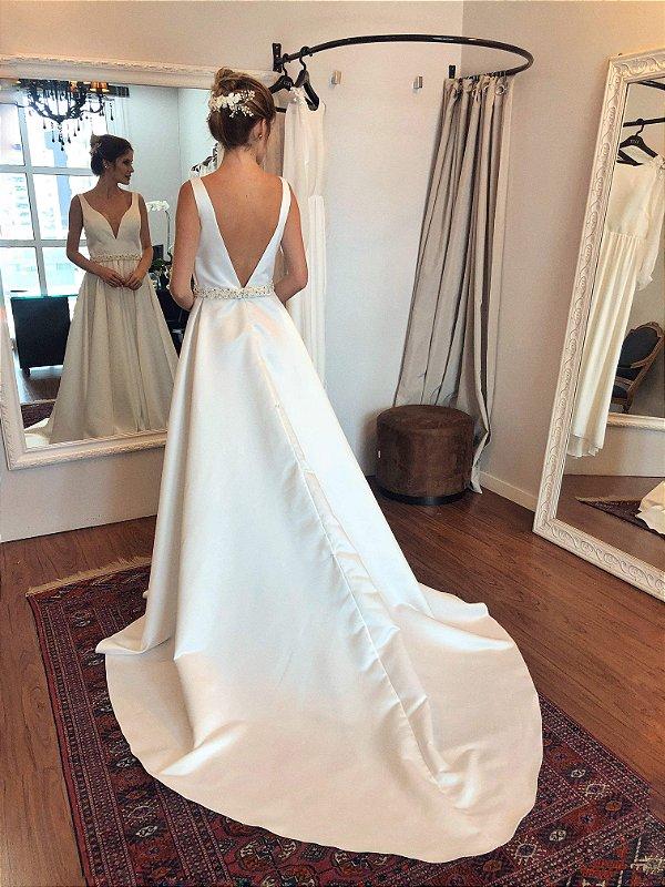 Vestido de Noiva Evelyn - Vlr. de Venda