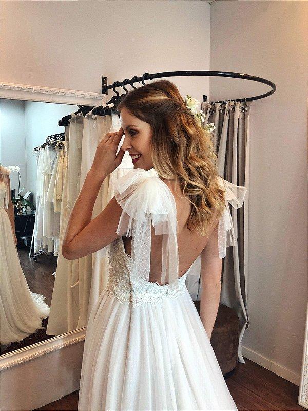 Vestido de Noiva Georgia - Vlr. de Venda