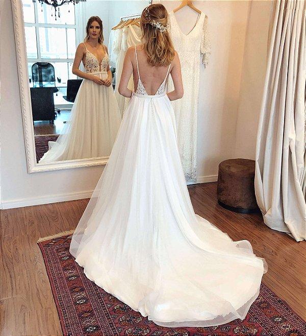 Vestido de Noiva Liz - Vlr. de Venda