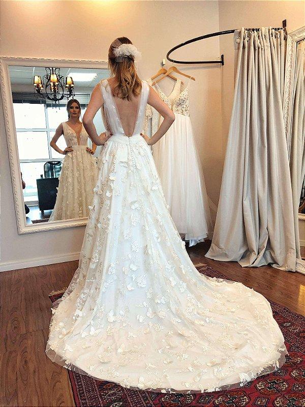Vestido de Noiva Lorena - Vlr. de Venda