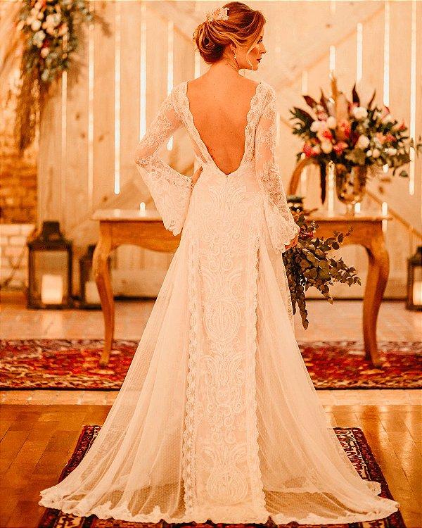 Vestido de Noiva Rafaela - Vlr. de Venda
