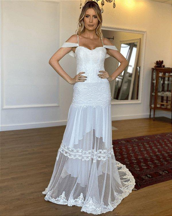 vestido de Noiva Letícia