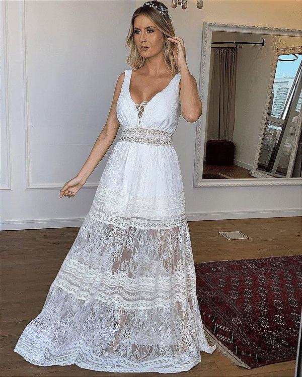 Vestido de Noiva Helena