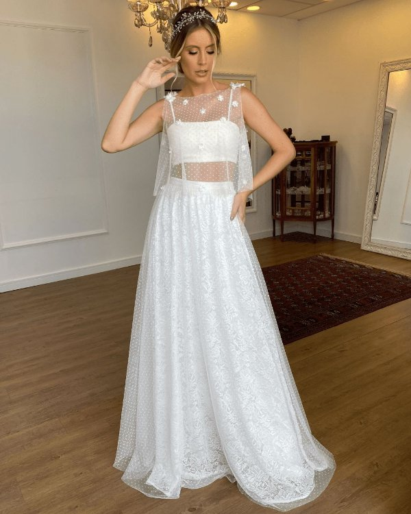 Vestido de Noiva Manuela