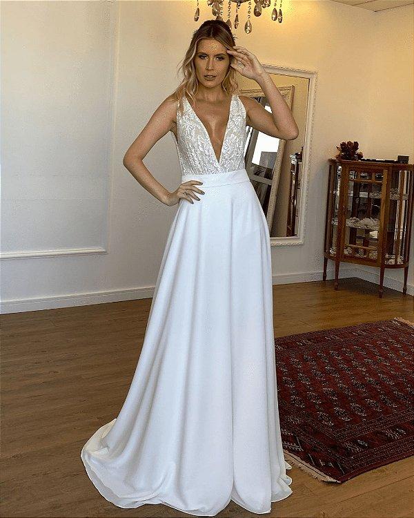 Vestido de Noiva Adriana