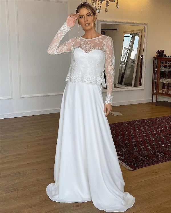 Vestido de Noiva Elisa