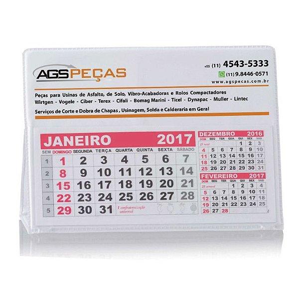 Calendário de Mesa - Personalizado