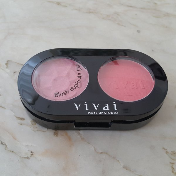BLUSH DUPLO OVAL ALL DAY VIVAI 1031.1.2