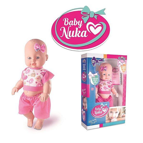 BONECA NOVA TOYS BABY NUKA REF:1020