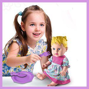 coleção happy doll papinha cabelo loiro