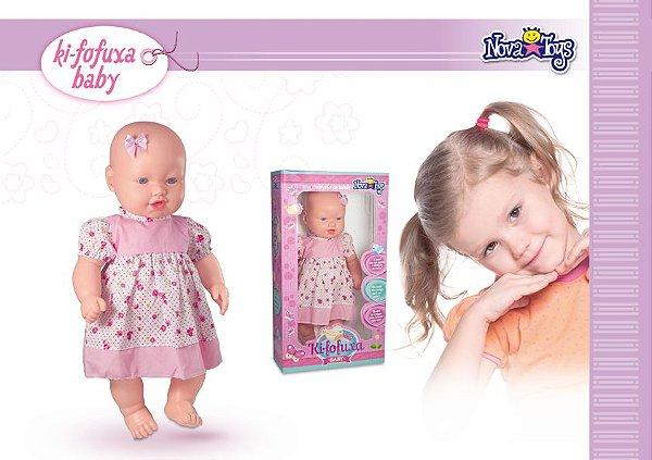 BONECA KI-FOFUXA BABY REF:1066