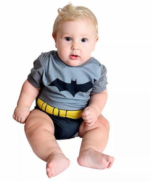 Fantasia Batman Body Verão Bebê Sulamericana
