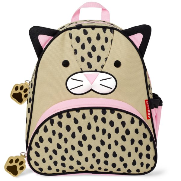 Mochila Costas Backpack Zoo Leopardo Rosa Skip Hop