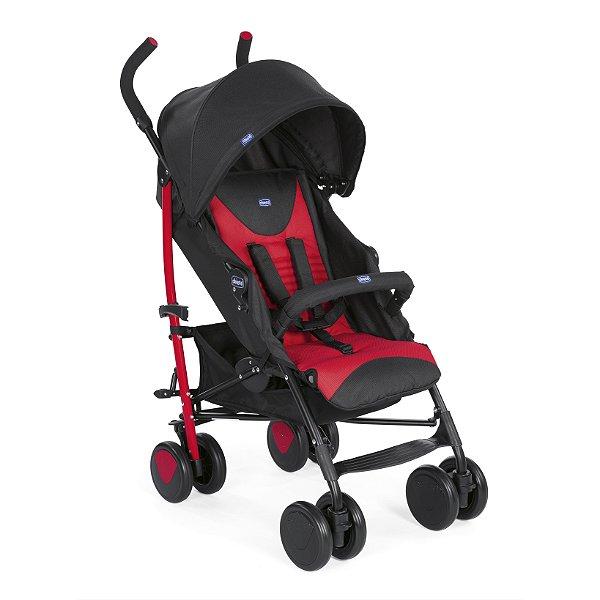 Carrinho de Bebê Echo Bumper Scarlet Chicco - 4 Posições até 15kg