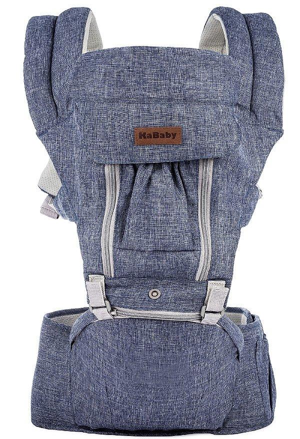 Canguru Ergonômico Seat Line Jeans KaBaby (6m+)