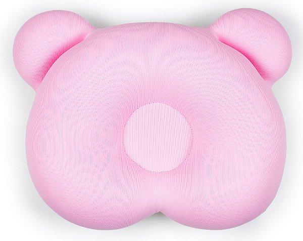 Almofada Ergonômica Descanso Bebê Ursinho Rosa Baby Pil (0m+)