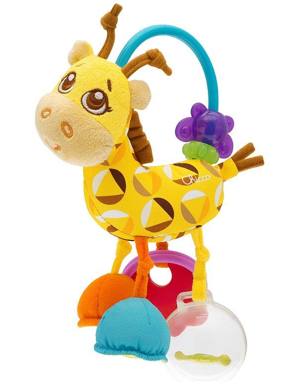 Chocalho e Mordedor Sra Girafa Primeiras Atividades Chicco (3m+)