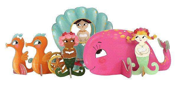 Quebra Cabeça 3D na Maletinha Serias Krooom