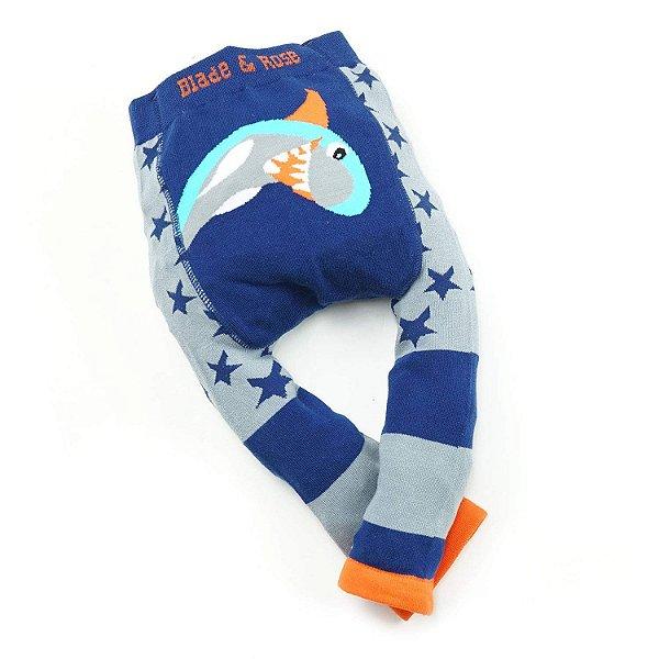 Calça Legging para Bebê Tubarão Blade and Rose