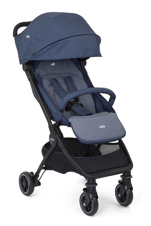 Carrinho de Bebê Pact Azul Deep Sea Joie - 3 Posições até 15kg