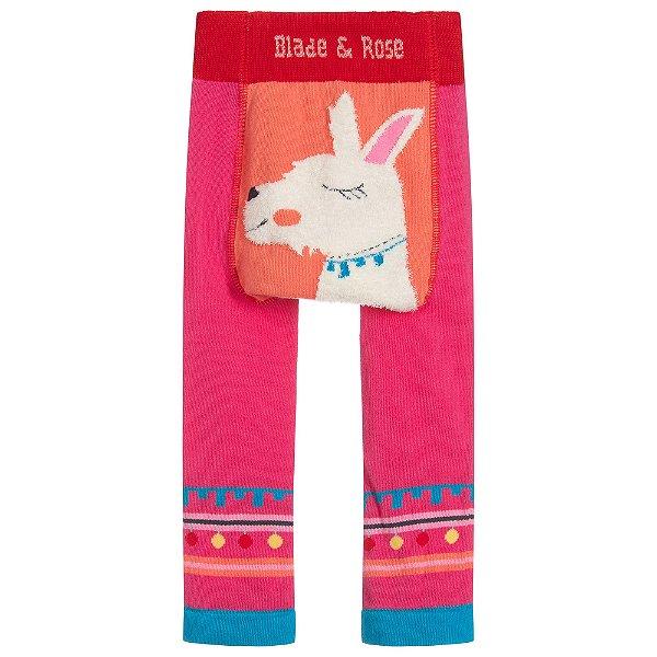 Calça Legging para Bebê Fluffy Lhama Blade and Rose