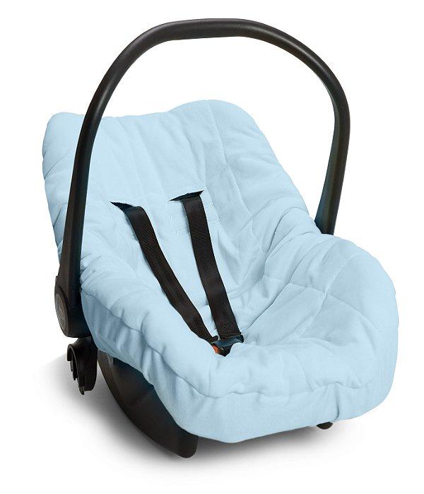 Capa Forro para Bebê Conforto Azul Hug Baby