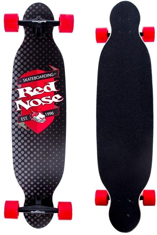 Skate Longboard Abec 7 Truck Shape Pro Mess Red Nose 444400